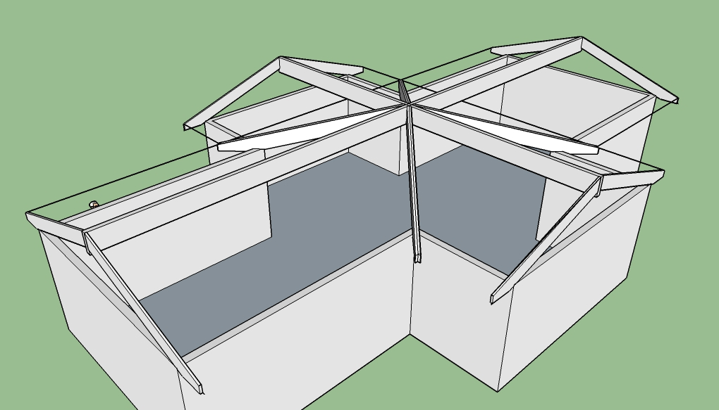 Cross Gable Roof Framing Pictures 79